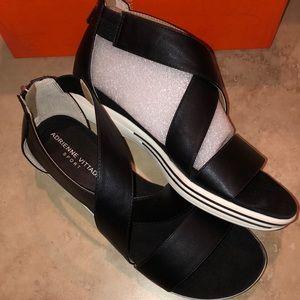 Adrienne Vittadini Womens Claud gladiator sandals